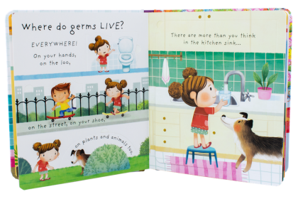 Usborne Lift-the-Flap Very First Q & A (Poo & Germs)