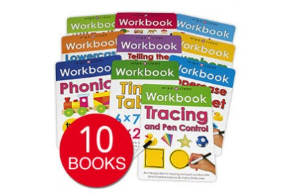 Priddy Wipe Clean Workbook Collections (10 books) (DISPLAY COPY)