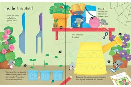Usborne Wipe Clean Activity Collection (6 books)