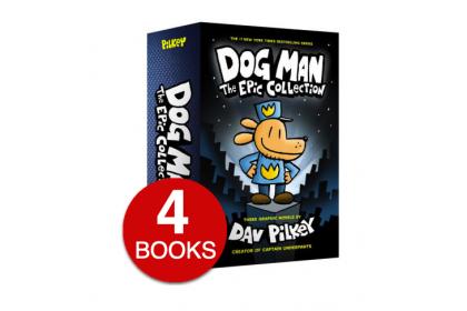 Dog Man Adventure Collection (4 books) Box Set