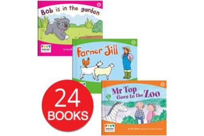 Engage Literacy Wonder Words Collection (24 books)