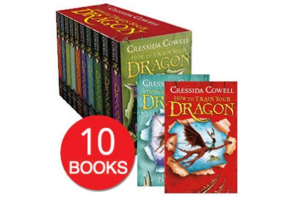 How to Train Your Dragon Collection (10 books)