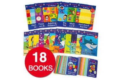 Ladybird I'm Ready to Learn Collection (20 books)