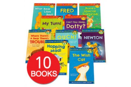 Ready For Reading Collection (10 books)
