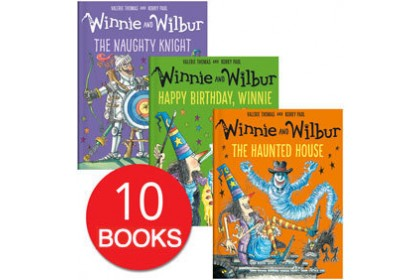 Winnie and Wilbur Collection (10 books)