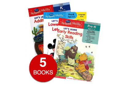 Disney Let's Learn Collection (5 books)