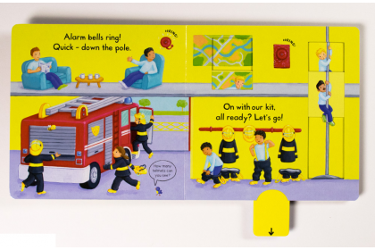 Busy Fire Station (Campbell Busy Book Series)