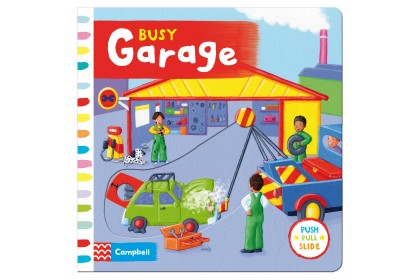 Busy Garage (Campbell Busy Book Series)