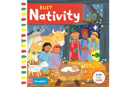 Busy Nativity (Campbell Busy Book Series)