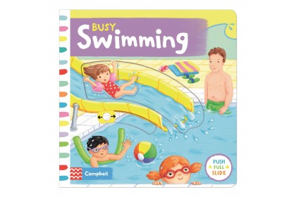 Busy Swimming (Campbell Busy Book Series)