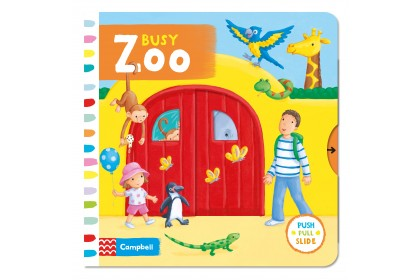 Busy Zoo (Campbell Busy Book Series)