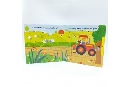 Busy Tractor (Campbell Busy Book Series)
