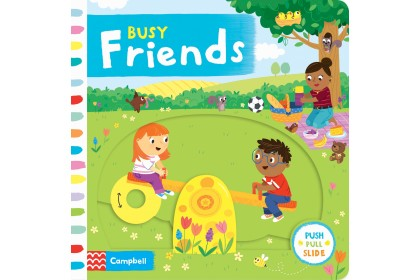 Busy Friends (Campbell Busy Book Series)