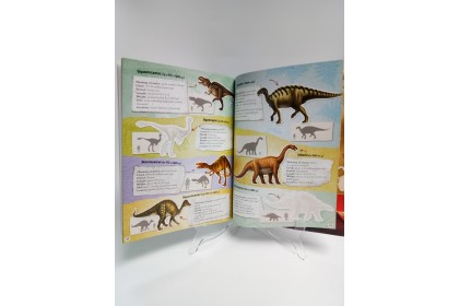 Dinosaur Sticker Atlas