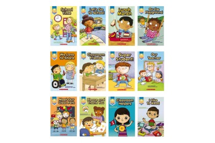 Just Right Leveled Readers (12 books with CD & Storyplus)