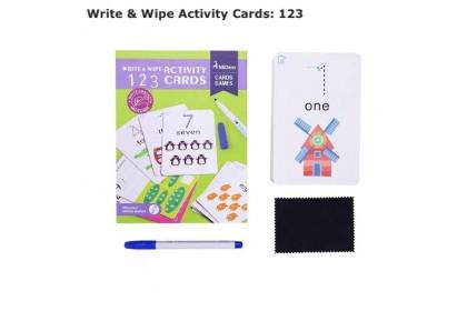 Mideer Write & Wipe Activity Cards