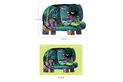 Mideer Huge Puzzle: Elephant Dream