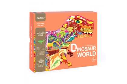 Mideer Huge Puzzle: Dinosaur World