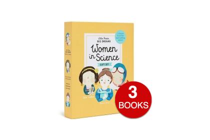 Women in Science (3 books) (Little People, Big Dreams Series)