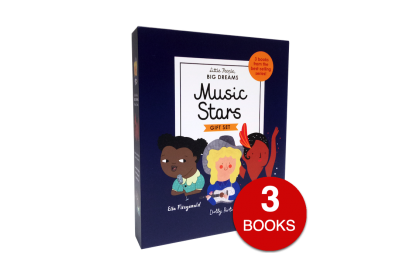 Music Stars (3 books) (Little People, Big Dreams Series)