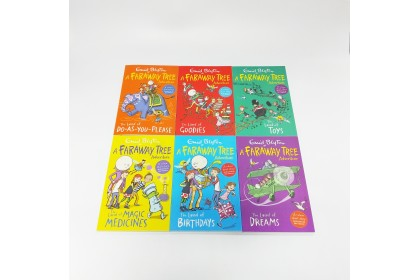 Enid Blyton The Faraway Tree Adventures Collection (6 books)