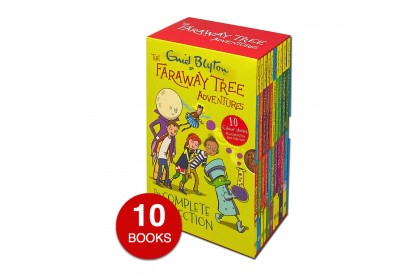 Enid Blyton The Faraway Tree Adventures Collection (10 books) Color Edition