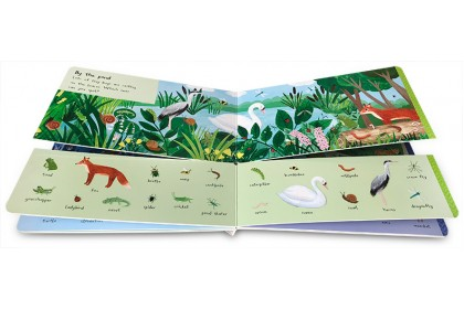 There Are 101 Animals In This Book (Campbell Big Steps Series)