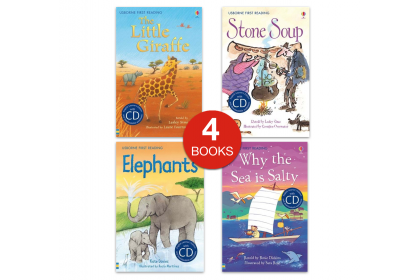 Usborne First Reading Mini Pack (4 books with CDs)