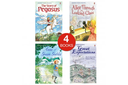 Usborne Young Reading Mini Pack (4 books)