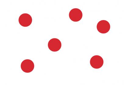 Number Random Dots Flashcards
