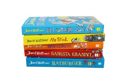 The World Of David Walliams Collection (5 Books)