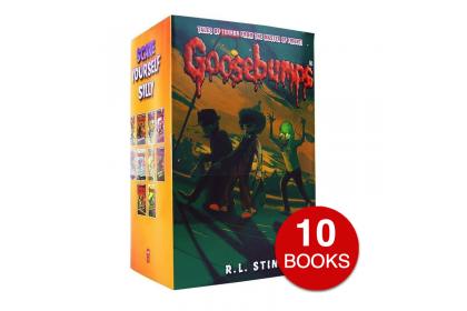 Goosebumps Collection (Orange set) (10 books)