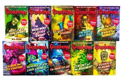 Goosebumps Collection (Green set) (10 books)