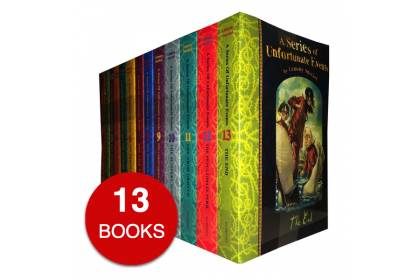 A Series of Unfortunate Events Collection (13 books)