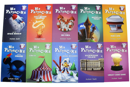 Mr Pattacake The Complete Collection (10 Books)