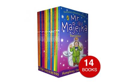 Mr Majeika Collection (14 books)