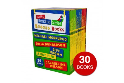 My First Reading Series Banana Books by Jacqueline Wilson (30 books)