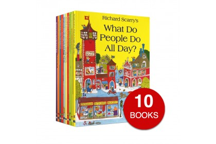 Richard Scarry Collection (10 books)