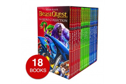 Beast Quest: The Hero Collection (18 books)