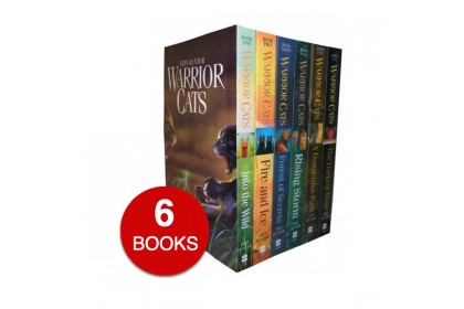 Warrior Cats Collection Series 1 (6 Books)