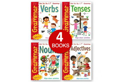 Get Set Go!: Wipe Clean Grammar Collection (4 books)