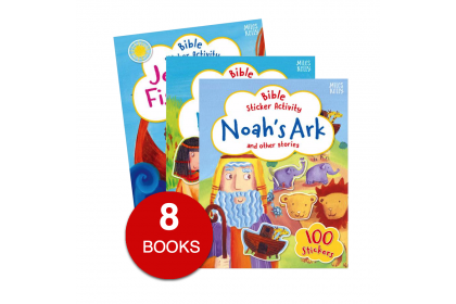 My Bible Sticker Activity & Stories Collection (8 books)