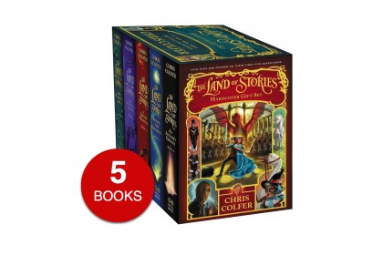The Land of Stories Hardcover Collection (5 books)