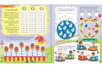 Usborne Maths Activity Collection (4 books)