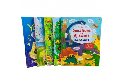 Usborne Lift-the-Flap General Knowledge Collection (5 books)