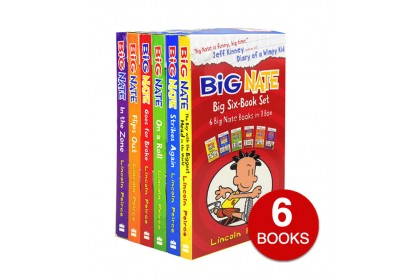 Big Nate Collection (6 books)