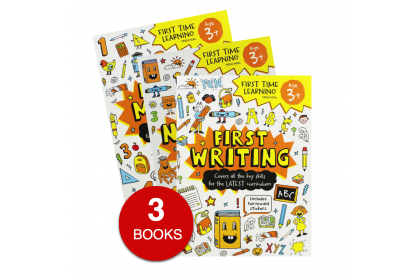 Help with Homework Orange Collection (3 books) - First Writing, Early Maths, Numbers