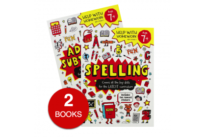 Help with Homework Red Collection (2 books) - Spelling, Adding and Subtraction