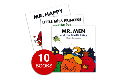 Mr Men and Little Miss Picture Book Collection (10 books)
