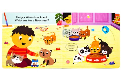 Busy Kittens (Campbell Busy Book Series)